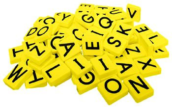 Magnetic Teaching Tiles - Uppercase Letters