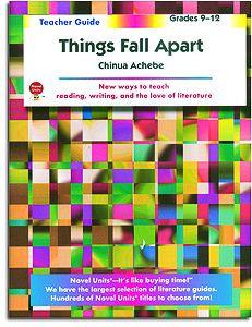 Things Fall Apart Novel Units Teacher Guide
