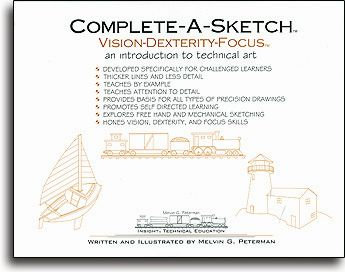 Complete-A-Sketch Vision-Dexterity-Focus
