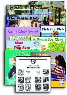 Phonics Reader Set 4: Digraph Books with Teacher's Guide
