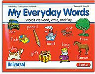 My Everyday Words - Book A (Gr. 1)