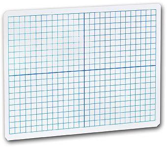 1/4-inch Graph Dry Erase Board