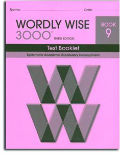 Wordly Wise 3000 - Book 9 - Test Booklet