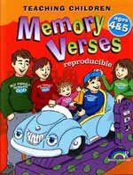 Teaching Children Memory Verses - Ages 4 & 5
