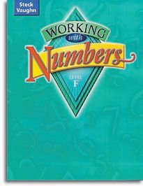 Working with Numbers - Level F - Student Workbook