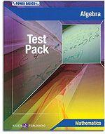 Power Basics - Algebra - Test Pack