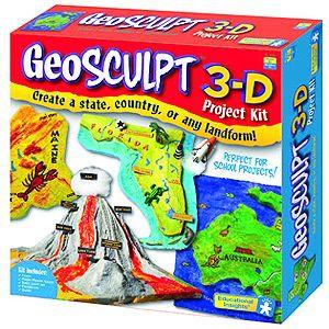 GeoSculpt 3-D Project Kit