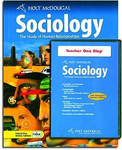 Holt McDougal Sociology Set