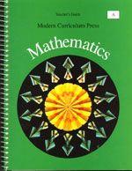 Modern Curriculum Mathematics - Math A - Teacher's Guide