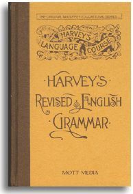 Harvey's Revised English Grammar (paperback)