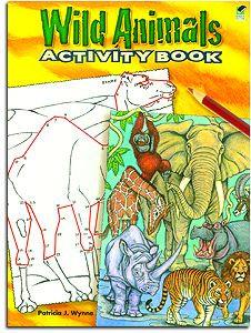 Wild Animals Activity Book