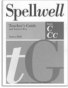 Spellwell Grade 4 Teacher's Guide - Books C & CC