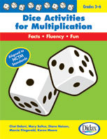 Dice Activities for Multiplication