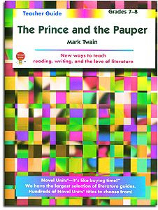 The Prince and the Pauper Novel Units Teacher Guide