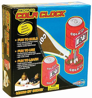 Cola Clock Lab Set