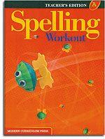 Modern Curriculum Press Spelling Workout - Level A Teacher's Guide