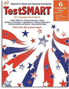 TestSMART Language Arts Grade 6