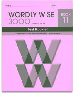 Wordly Wise 3000 - Book 11 - Test Booklet
