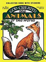 God Created the Animals of the World