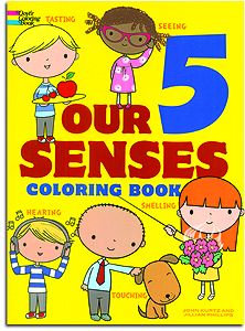 Our Five Senses Giant Coloring Book