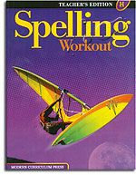 Modern Curriculum Press Spelling Workout - Level H Teacher's Guide