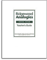 Ridgewood Analogies - Book 4 - Answer Key