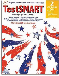 TestSMART Language Arts Grade 2