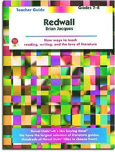 Redwall Novel Units Teacher Guide