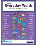 My Everyday Words - Book D (Gr. 4)