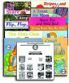 Phonics Reader Set 3: Blend Books with Teacher's Guide