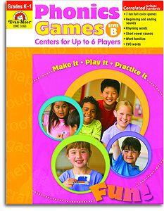 Phonics Games - Level B