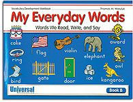 My Everyday Words - Book B (Gr. 2)