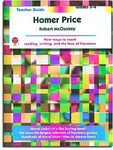 Homer Price Novel Units Teacher Guide