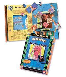 The Ultimate Human Body Block Book