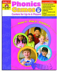 Phonics Games - Level D