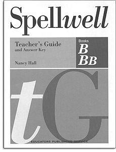 Spellwell Grade 3 Teacher's Guide - Books B & BB