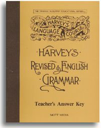 Harvey's Revised English Grammar Key - Teacher's Answer Key