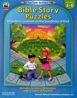 Bible Story Puzzles - Grades 4-6