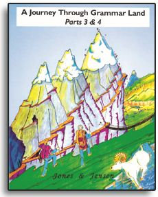 Journey Through Grammar Land - Parts 3 & 4 Combined (Grammar Land Series)