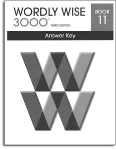 Wordly Wise 3000 - Book 11 - Answer Key
