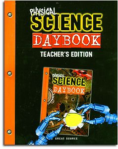 Science Daybook - Physical Science - Teacher's Edition