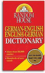 German-English/English-German Dictionary