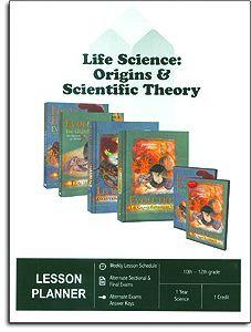 Life Science: Origins & Scientific Theory Parent Lesson Plan