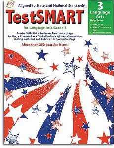 TestSMART Language Arts Grade 3