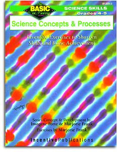 Basic/Not Boring 4-5 Science - Concepts & Processes