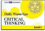 Critical Thinking - Level I - Daily Warm-Ups