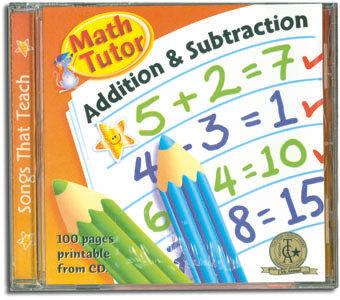 Math Tutor - Addition & Subtraction CD