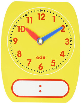 Write-On/Wipe Off Clock Face (singular)