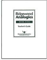 Ridgewood Analogies - Book 5 - Answer Key