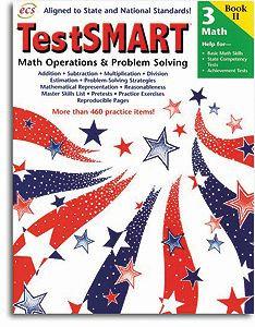 TestSMART Math Operations & Problem-Solving- Grade 3
